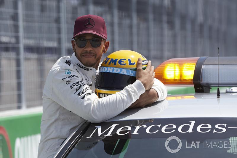 Володар поулу Льюіс Хемілтон, Mercedes AMG F1