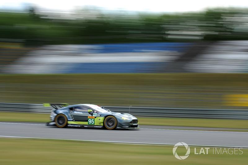 #95 Aston Martin Racing Aston Martin Vantage: Нікі Тіім, Марко Соренсен
