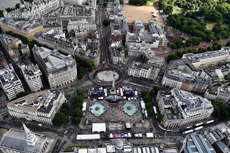 Formel-1-Show in London