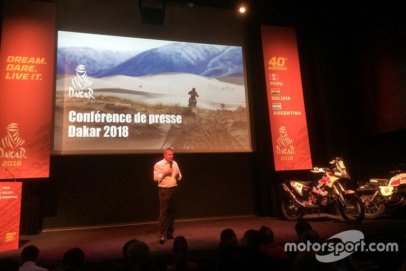 Étienne Lavigne, Dakar-Rennleiter