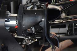 Red Bull Racing RB13: Vorderrad-Bremse