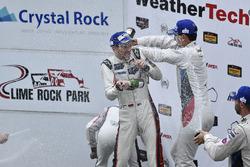 GTLM Podyum: Yarış galibi Patrick Pilet, Dirk Werner, Porsche Team, 2. Gianmaria Bruni, Laurens Vanthoor, Porsche Team, 3. John Edwards, Martin Tomczyk, BMW Team RLL