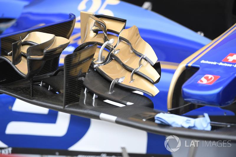 Переднє антикрило Sauber C36