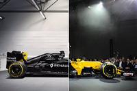 Comparación de los Renault R.S.16 vs R.S.17