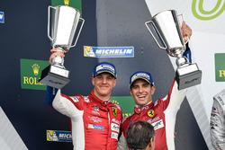 Podium GTE Pro : #51 AF Corse Ferrari 488 GTE: James Calado, Alessandro Pier Guidi
