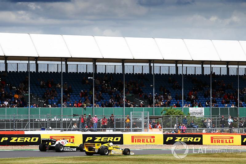 Renault Sport F1 Team F1 Historic, Рене Арну, Франк Монтані
