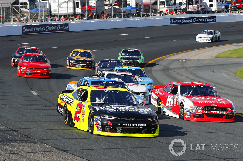 Ben Kennedy, GMS Racing Chevrolet, Ryan Reed, Roush Fenway Racing Ford
