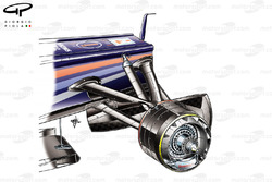 Red Bull RB7 front brakes