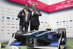 Esteban Gutiérrez y Alejandro Agag, CEO Fórmula E