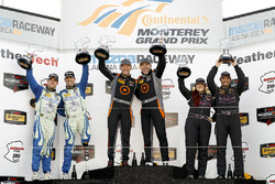 ST podium: winners Pierre Kleinubing, Roy Block, second place Liam Dwyer, Andrew Carbonell, third place Sarah Cattaneo, Owen Trinkler