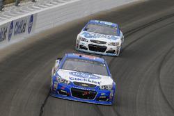 A.J. Allmendinger, JTG Daugherty Racing Chevrolet and Chris Buescher, JTG Daugherty Racing Chevrolet