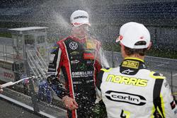 Podium: Lando Norris, Carlin Dallara F317 - Volkswagen, Joel Eriksson, Motopark Dallara F317 - Volkswagen