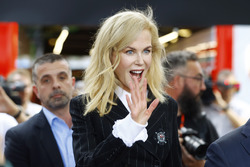 Nicole Kidman visits the Australian Grand Prix