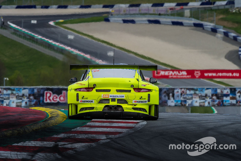 #29 Forch Racing powered by Olimp, Porsche 991 GT3 R: Robert Lukas, Zeljko Drmic, Patrick Eisemann