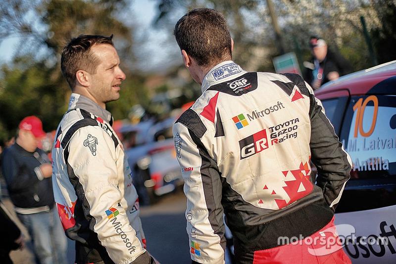 Юхо Хяннінен, Кай Ліндсрьом, Toyota Yaris WRC, Toyota Racing