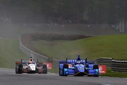 Scott Dixon, Chip Ganassi Racing Honda, Ed Jones, Dale Coyne Racing Honda