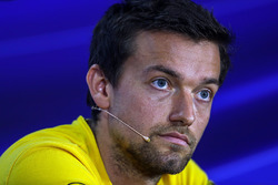 Jolyon Palmer, Renault Sport F1 Team in the Press Conference