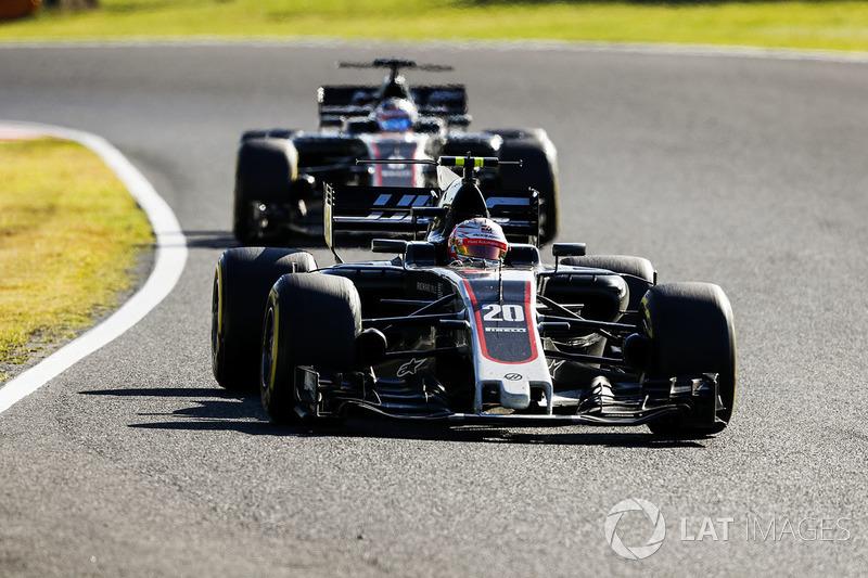 Кевін Магнуссен, Ромен Грожан, Haas F1 Team VF-17