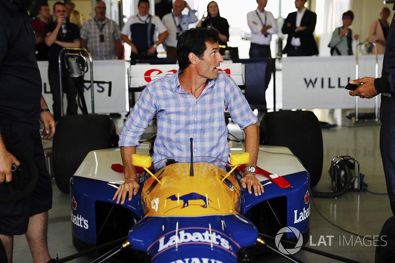 Mark Webber, FW14 Renault