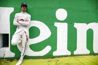 Lance Stroll, Williams Racing, on the grid