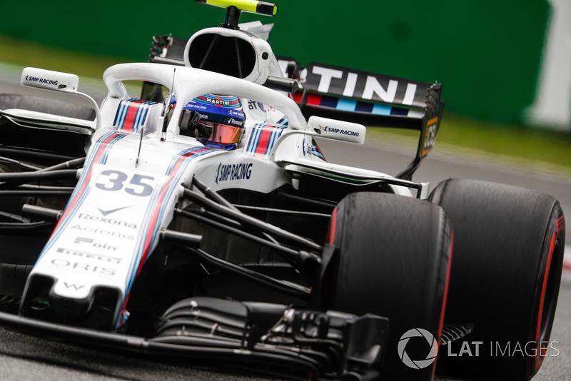 12. Sergey Sirotkin, Williams FW41.
