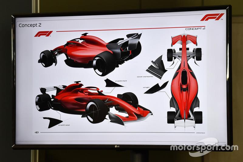 مفاهيم تصميم سيارات الفورمولا 1 لموسم 2021