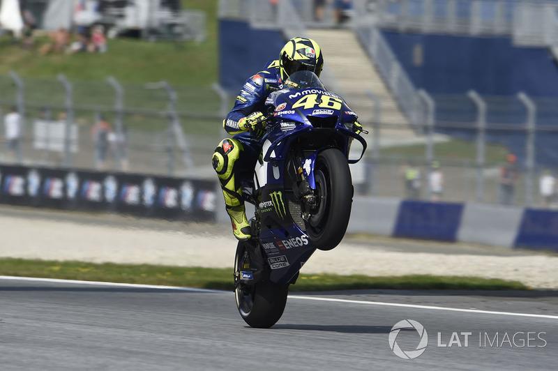 MotoGP Austria: Valentino Rossi, Yamaha Factory Racing