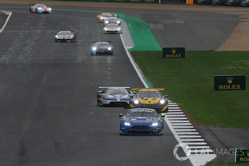 #90 TF Sport Aston Martin Vantage: Salih Yoluc, Jonny Adam, Charles Eastwood