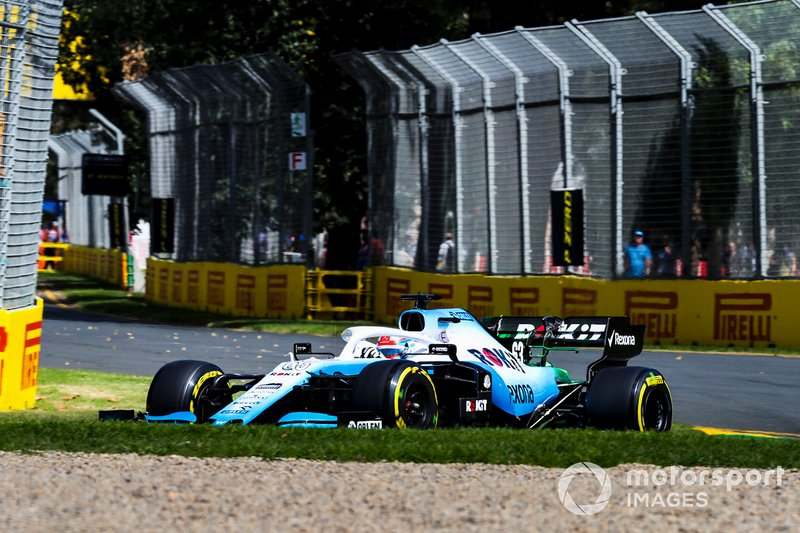 16. George Russell, Williams Racing FW42