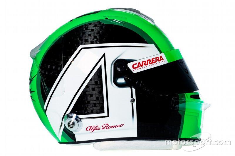 Новый шлем Антонио Джовинацци