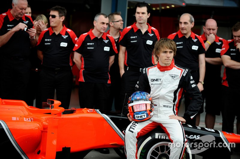 #20 Charles Pic, Marussia