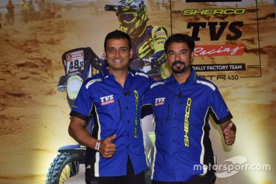 TVS Racing Hindistan tanıtımı