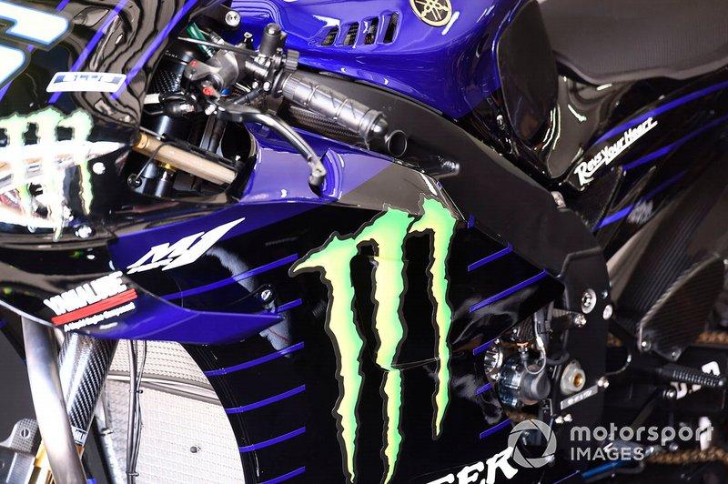 Yamaha Factory Racing detalle