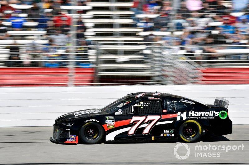 Garrett Smithley, Spire Motorsports, Chevrolet Camaro Overkill Motorsports (Atlanta shot)