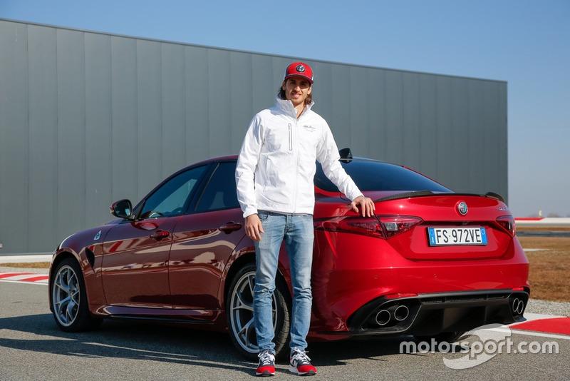 Антоніо Джовінацці, Alfa Romeo Racing