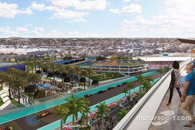 Объявление о Гран При в Майами
