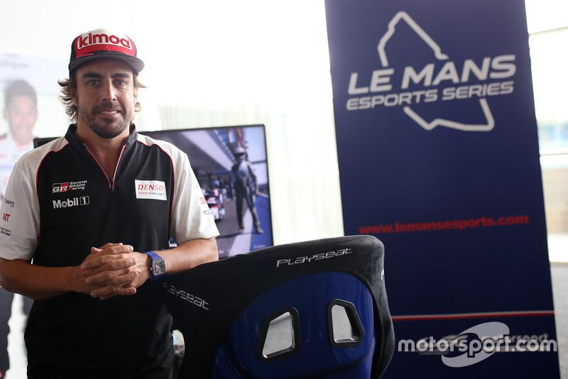 Presentasi Le Mans Esport Series bersama Fernando Alonso