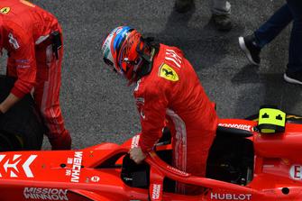 Kimi Raikkonen, Ferrari SF71H na mriežke