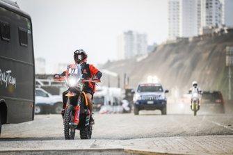 #77 KTM Factory Racing Team: Luciano Benavides