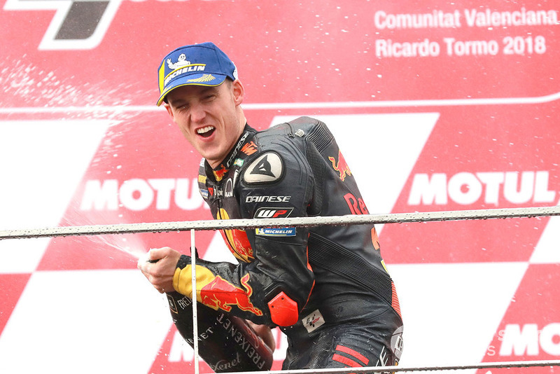 Подіум: третє місце Пол Еспаргаро, Red Bull KTM Factory Racing