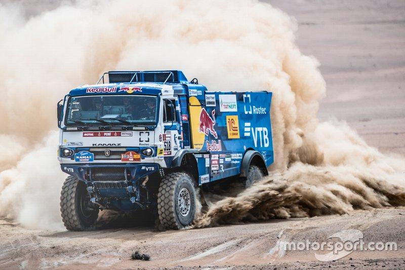 #518 Team Kamaz Master: Andrey Karginov, Igor Leonov, Andrey Mokeev