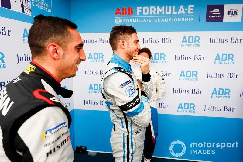 Sébastien Buemi, Nissan e.Dams, Edoardo Mortara, Venturi Formula E