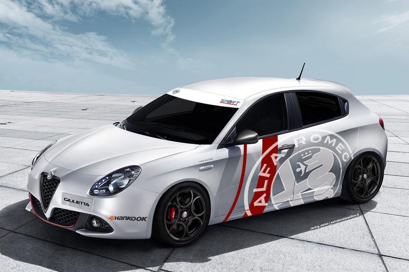 Render Alfa Romeo Giulietta TCS