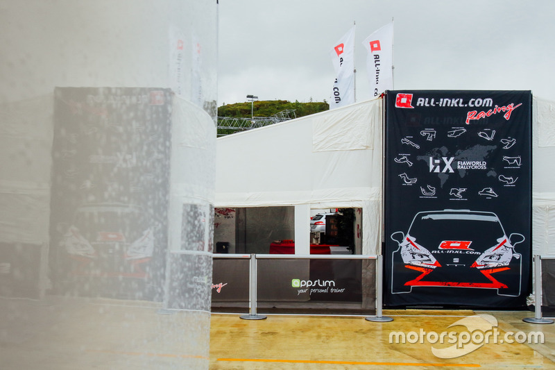 All-Inkl Motorsport tent