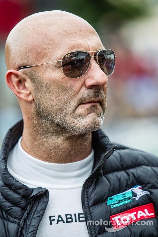 #23 Panis Barthez Competition Ligier JS P2 Nissan: Fabien Barthez at 24 Hours of Le Mans - Le ...