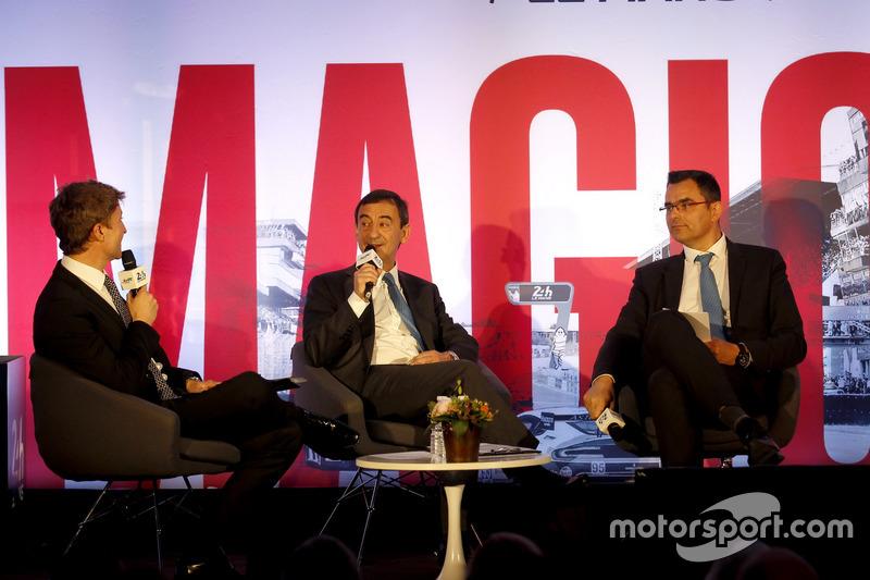 Conferencia de prensa de la ACO: Pierre Fillon, ACO Presidente de la ACO y Frederic Lenart, Director Gerneral de la ACO