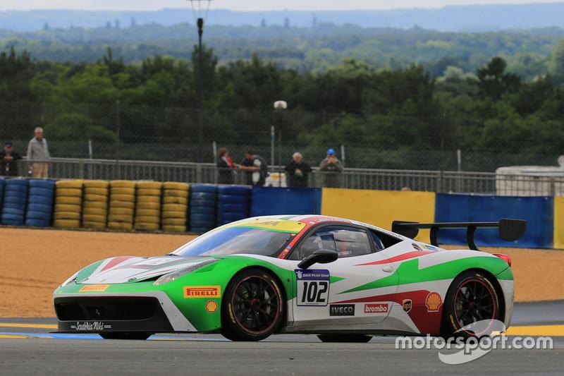 #102 Scuderia NikiFerrari 458 Challenge Evo: Claudio Schiavoni