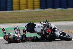 Choque de Johann Zarco, Ajo Motorsport