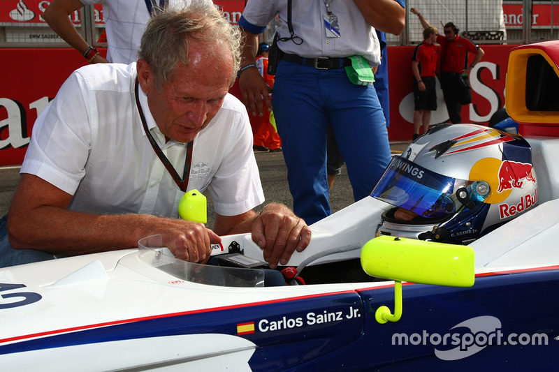 Dr. Helmut Marco, Red Bull Racing bersama Carlos Sainz Jr.