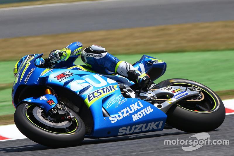 Aleix Espargaro (Suzuki), Technik